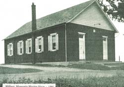 Millport Mennonite Meeting House - 1846